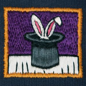 Rabbit in a Hat 2.25 square.JPG